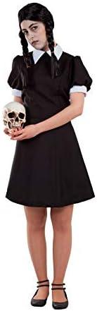 DISBACANAL Disfraz de Miércoles Adams Mujer - -, S: Amazon.es ...