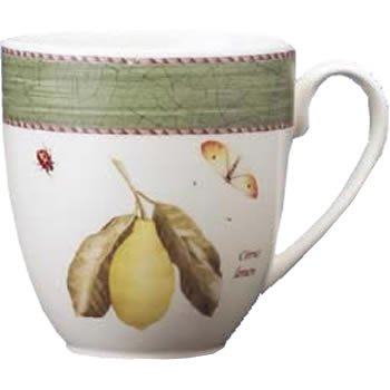 Wedgwood Sarah's Garden Mug 17oz Green (Set of 4) by Wedgwood