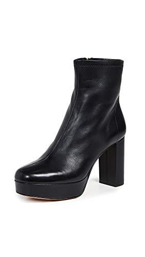Diane von Furstenberg Women's Yasmine Platform Boots, Black, 11 M ()