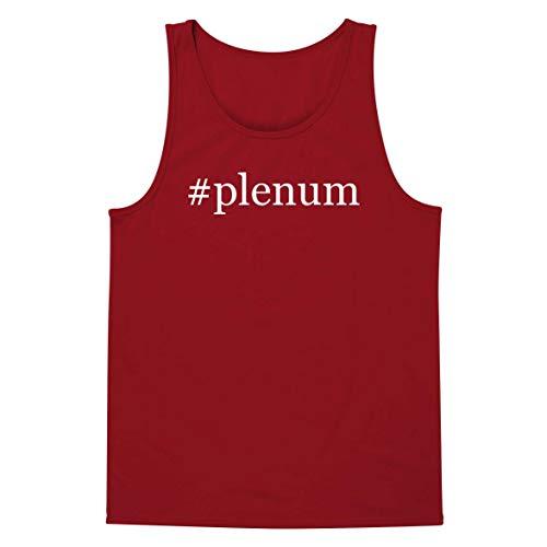 #Plenum - A Soft & Comfortable Hashtag Men's Tank Top, Red, X-Large