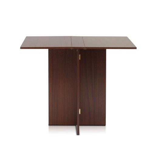 Furinno Boyate Special Simple Folding Table, Walnut