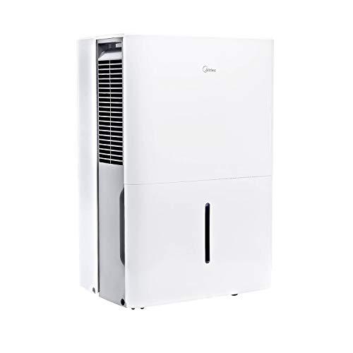 Midea MAD30C1YWS Dehumidifier 30 Pint with Reusable Filter, Ideal for basements, bedroom, bathroom,...