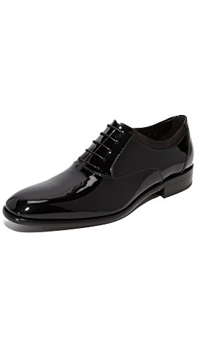 Salvatore Ferragamo Men's Aiden Patent Leather Shoes Black free shipping outlet locations free shipping Inexpensive low cost for sale top quality uAlxKtmf