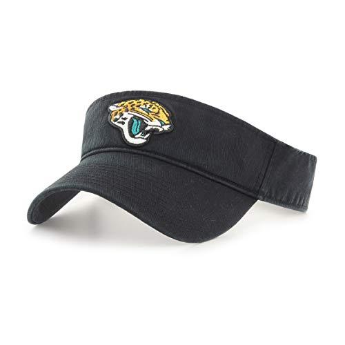 (OTS NFL Jacksonville Jaguars Male Visor, Black, One Size)