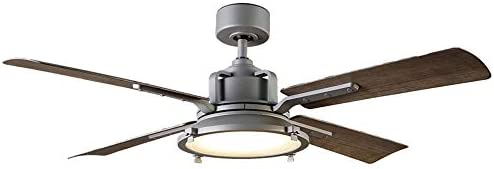 Nautilus Indoor/Outdoor 4-Blade Smart Ceiling Fan 56in Graphite