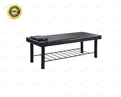 COLIBROX_Massage Table,Spa Bed,Spa Equipment,Spa Massage Table,Physical Therapy Bed,Stationary Massage Table Bed,Salon Bed