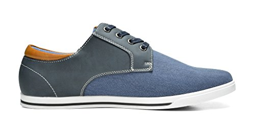 Bruno Marc New York Bruno Marc Mens Mens Rivera Oxford Scarpe Sneakers Navy