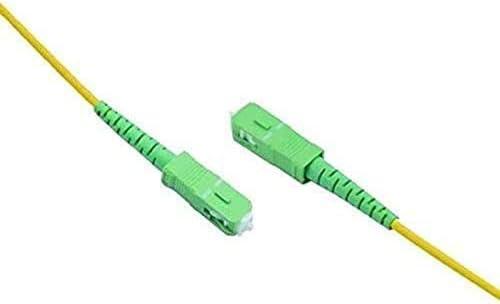 5 metres Compatible with Orange Jazztel and All Others PRENDELUZ Universal Fiber Optic Cable Vodafone SC//APC to SC//APC Single Mode Simple 9//125 Movistar