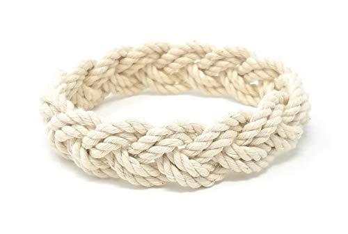 (Mystic Knotwork Sailor Bracelet (Narrow X-Large (Wrist 8-9 in), Natural) )