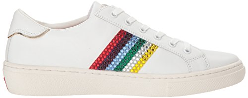 Wht rainbow Rockers Goldie Baskets Skechers Femme Blanc white Rx60wwgq