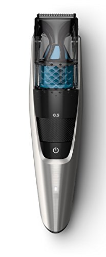 philips norelco beard trimmer series 7200 vacuum trimmer with 20 built in length settings. Black Bedroom Furniture Sets. Home Design Ideas