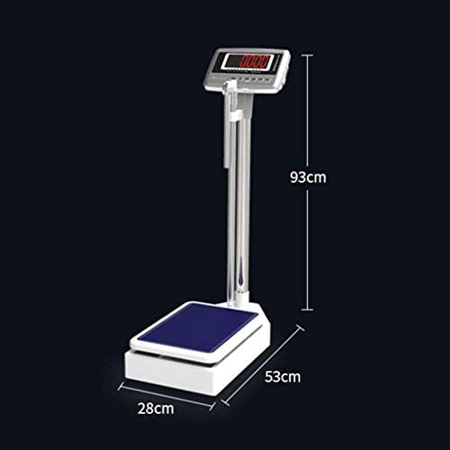 Digital Scales,Height and weight scales, precision electronic scale, high-definition digital LCD display, high-precision sensors, 200kg / 440-pound
