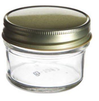 bulk 4oz mason canning jars with aluminum tin unlined lids 12ct buy online in uae kitchen. Black Bedroom Furniture Sets. Home Design Ideas