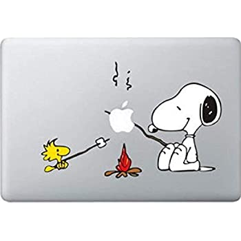 official photos f6154 a00bc Snoopy BBQ Decal Color Sticker for MacBook Pro Laptop Computer Decorative  Vinyl Stickers Mac Air Fits 13 and 15 Inch
