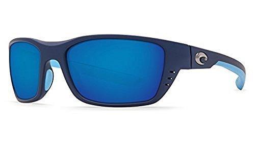 Costa Del Mar Whitetip 580P Whitetip, Matte Heron Blue Mirror, Blue - Mar Mirror Costa Del Blue
