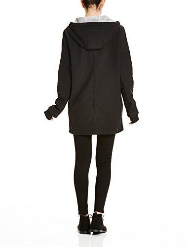 Surrealist Bench Femme Noir Bk014 Black Schwarz Manteau B FF8xwqAr