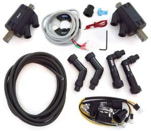 Compatible with Suzuki GS550//750//850//1000-1977-1979 w//Nippondenso Dynatek Electronic Ignition Kit w//Magna Coils
