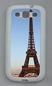 Samsung Galaxy S3 I9300 TPU Supple Shell Case Eiffel Tower White Skin by Sallylotus by ruishername