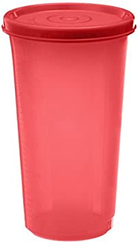 Signoraware Plastic Tumbler, 370ml, Deep Red
