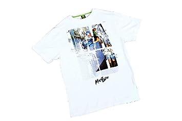 Madd Gear ranura de patinete camiseta blanco: Amazon.es ...