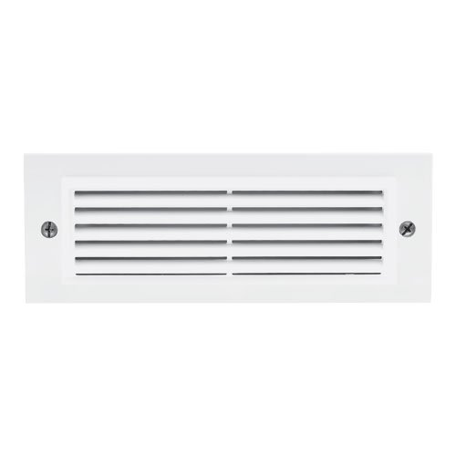 Elco Lighting ELST31W Incandescent Brick Light with Angled Louver Faceplate