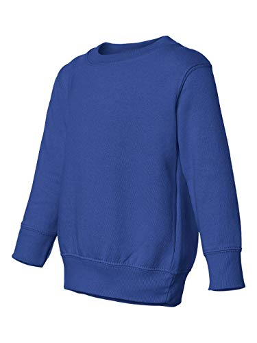 Toddler/Juvenile Crew Neck Sweatshirt (Royal) (2T)