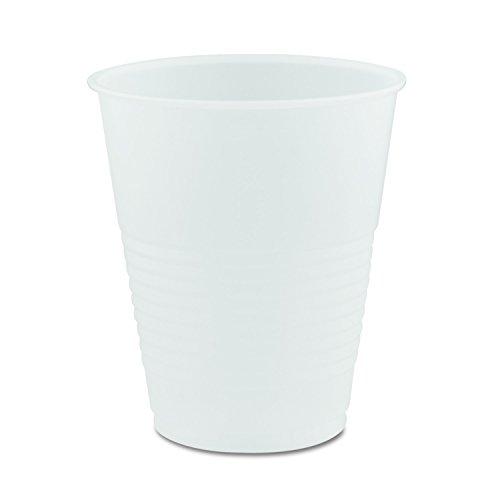 Dart Y12S Conex Translucent Plastic Cold Cups, 12oz 50 per Bag (Case of 20) -