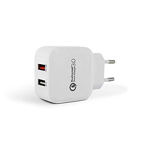 Metronic 495053 Cargador 2 Puertos USB Quick Charge 3.0 ...