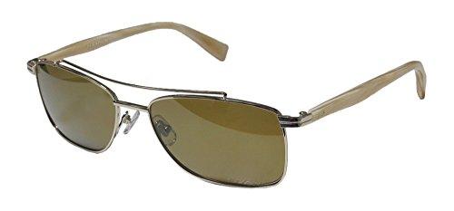 Seraphin Ewing Mens/Womens Designer Full-rim Titanium Polarized Lenses Sunglasses/Shades (57-17-140, Gold / - Women Rim Who Men