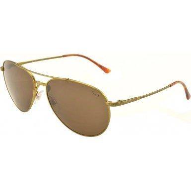 Polo Ralph Lauren Men's 0PH3094 Aviator Sunglasses, Aged Green,Brown & Aged Green, 59 - Polo Sunglasses Prescription