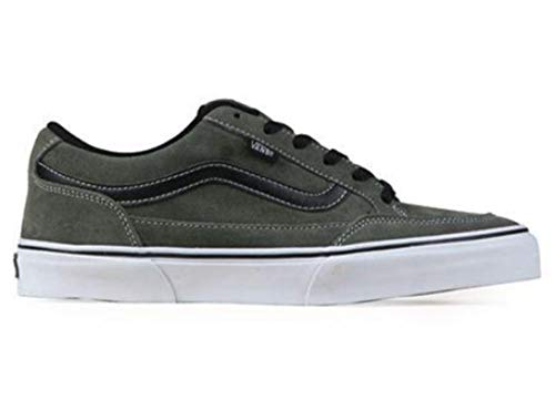 Vans Bearcat US Mens Size 12 Charcoal Grey White Black Skateboarding Shoes, Charcoal/White/Black, 12 M US (Best Vans Shoes For Skateboarding)