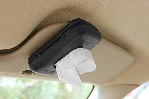 Rubbermaid 3360 00 Automotive Sun Visor Car Accessory Travel Size Tissue Paper Dispenser
