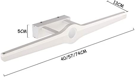 &LED Spiegelfrontlampe Einfache stilvolle Retractable LED-Spiegel-Frontleuchte und -WC wasserdicht und Anti-Beschlag-Cosmetic Sink Lichter Wandkunst-Lampe Lampe vor dem Spiegel