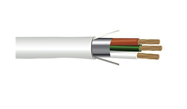Shielded Plenum Cable US Seller 6$//20 Feet 18 AWG 3 Conductor