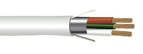 Southwire 18/3 Shielded Plenum Rated Wire - 18 Gauge 3 Conductor ...