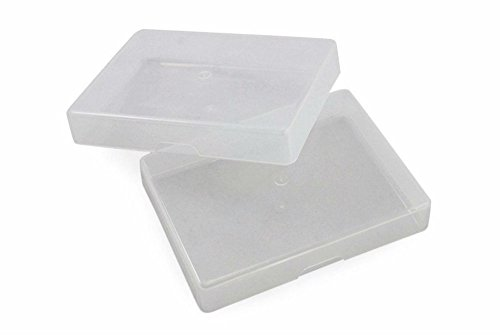 1 Dozen Clear Plastic Boxes for Regular Poker Sized Playing Cards in Tuck Case by Unknown