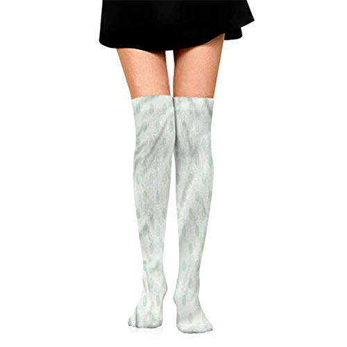 - Sock for Male Gifts Mint,Polka Dots Classic Cute,socks men pack dress