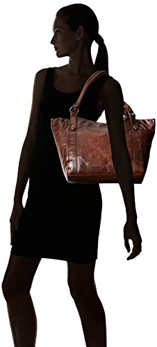 Handbag Melissa FRYE Dark Shoulder Brown Leather w67p8qSH
