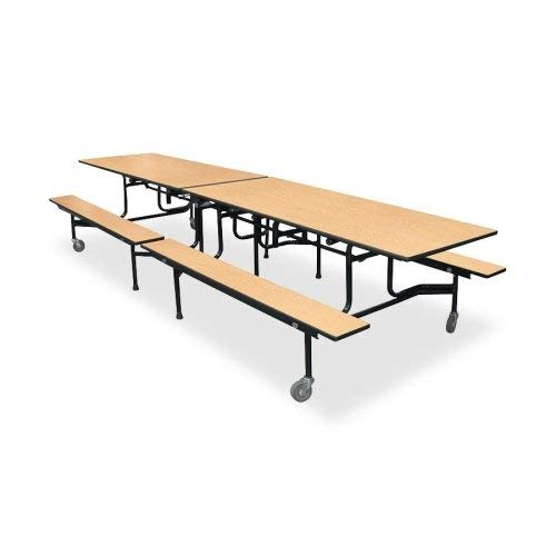 (HON The Company HONB293012DDDDP Rectangular Table with Bench, 144
