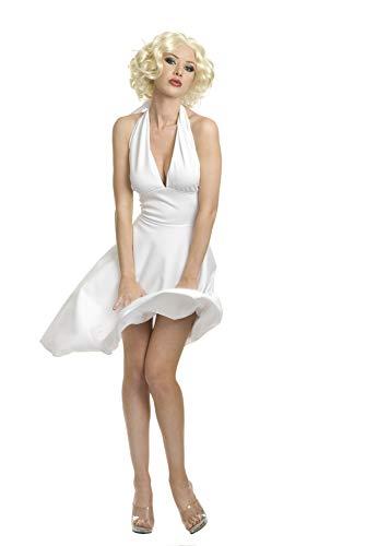 Charades Women's Starlet Halter Dress, White, Medium - http://coolthings.us