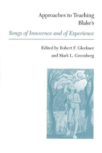 Blakes Songs of Innocence & of (Approaches to Teaching World Literature (Paperback))