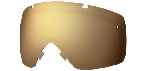 Smith I/O Ski Goggle Replacement Lens - Gold Mirror Sol-X - - Mirror Virtual
