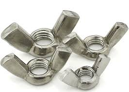 3/8-16 Wing Nut Cold Forged, 18-8 Stainless Steel, Package Qty 100