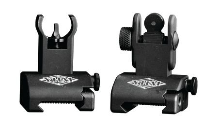 Yankee Hill Machine Quick Deploy Same Plane Sight System Front And Rear Set by Yankee Hill Machine