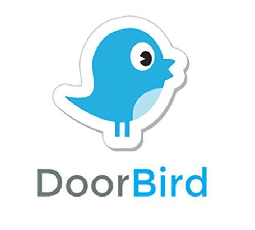 Door Station Stainless Steel Faceplate - DoorBird Faceplate for D2101KV IP Video Door Station Brushed Stainless Steel (V2A)