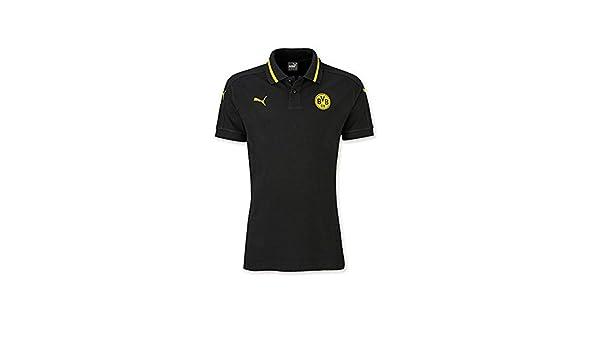 Borussia Dortmund Polo F. Niños BVB 09 Manga Camiseta Puma Tiempo ...