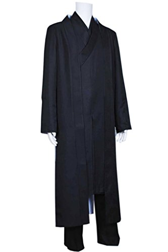 Fancy Style FancyStyle Tron Legacy Cosplay Kevin Flynn Clu Costume Black Male XL