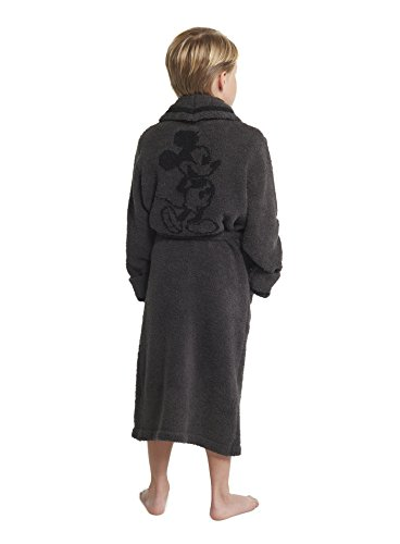 Barefoot Dreams CozyChic Unisex Youth Classic Mickey Mouse Robe Disney ()