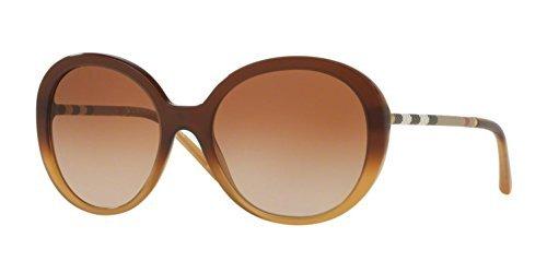 Amazon.com: anteojos de sol Burberry BE 4239qf 336913 Marrón ...