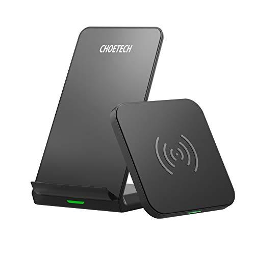 CHOETECH Cargador Inalambrico, Wireless Charger [2 Pack], Carga Rápida 7.5W/10W para iPhone 12/12 Pro/11/11 Pro/SE 2/Xs…